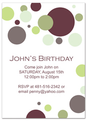 Creative Layout For Birthday Invitation Examples