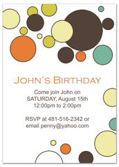 Design My Own Personalized Birthday Invitation