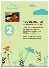 Wording Samples For Kids Personalized Birthday Invitation