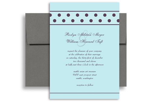 ... Customise Template Printable Wedding Invitation 5x7 in. Vertical